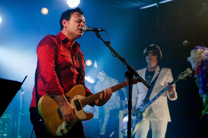 Manic Street Preachers at the Hammersmith Working Mens Club, London.  5th August 2010