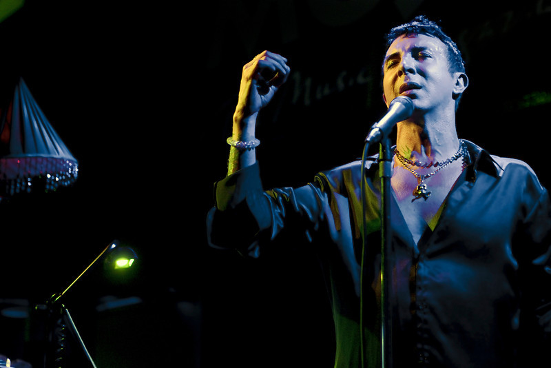 Marc Almond at the Jazz Cafe, London. 9th June 2010