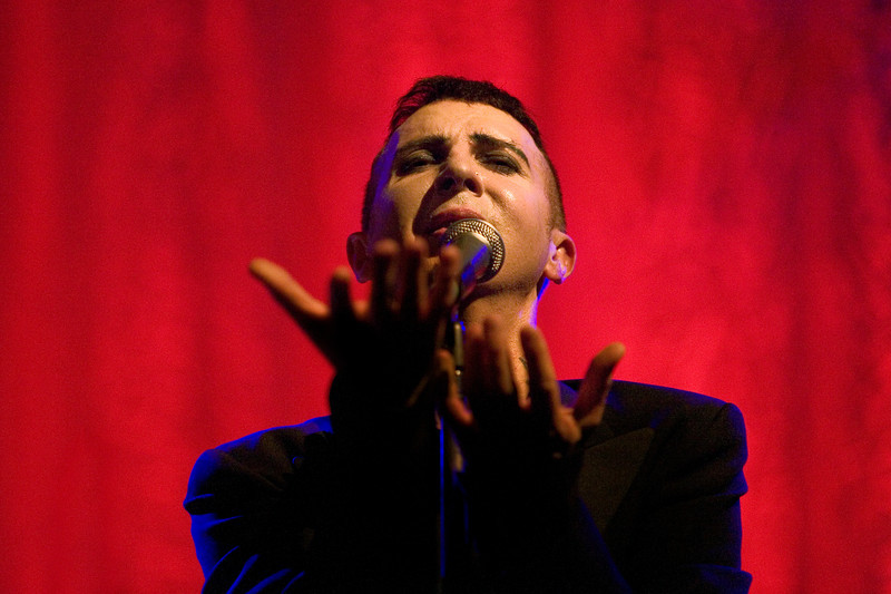 Marc Almond at Wilton's Music Hall, London. 9th May 2007