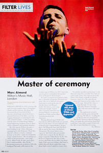 Marc Almond  Mojo Magazine