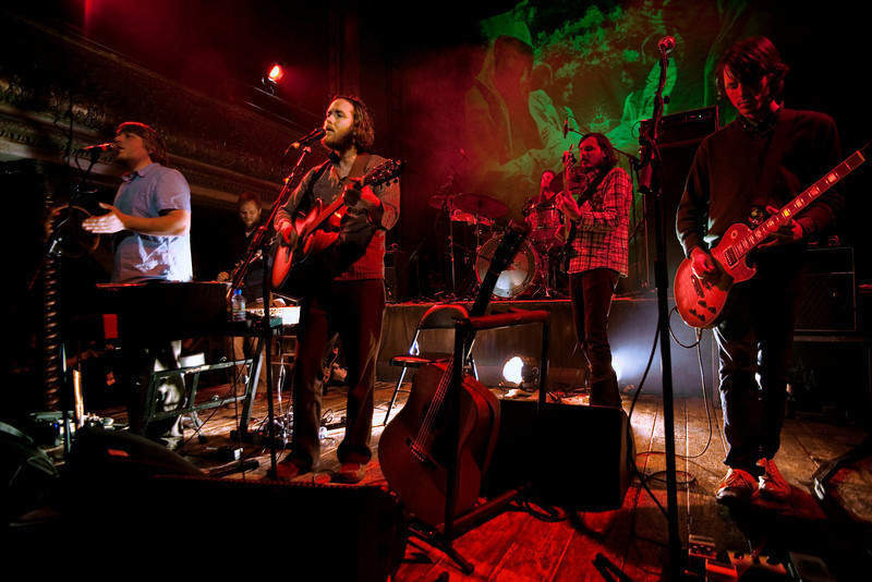 Midlake at Wilton's Music Hall, London.<br /> 31st January 2010