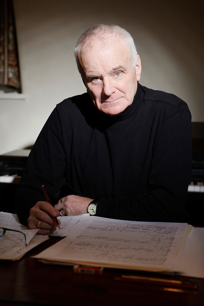 Sir Peter Maxwell Davies_01_Baker Street Flat__27th January 2011_Simon Fernandez