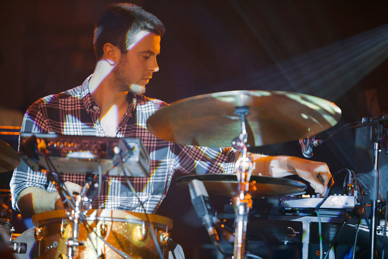 Portico Quartet_26_York Hall_29th February 2012_Simon Fernandez