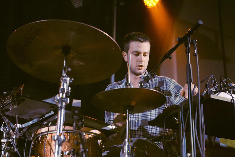 Portico Quartet_12_York Hall_29th February 2012_Simon Fernandez