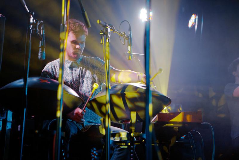 Portico Quartet_18_York Hall_29th February 2012_Simon Fernandez