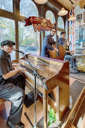 The St. Louis Piano Stomp at the Blues City Deli