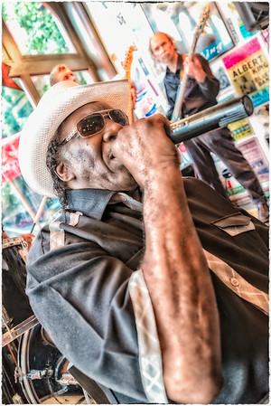 Big George Brock at the Blues City Deli