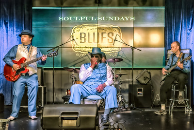 Big George Brock at the National Blues Museum