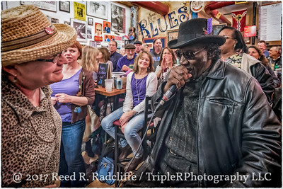 Big Mike Aguirre & Elliot Sowell at the Blues City Deli