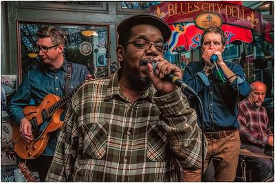 Cash Box Kings at the Blues City Deli
