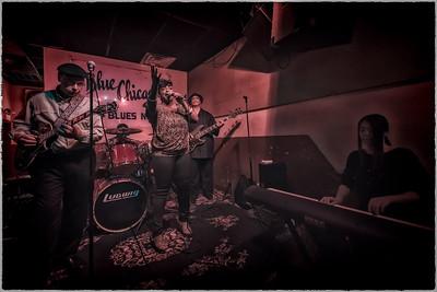 JW Williams Blues Band w/ Demetria Taylor at Blue Chicago