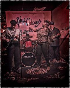 JW Williams Blues Band w/ Demetria Taylor at Blue Chicago