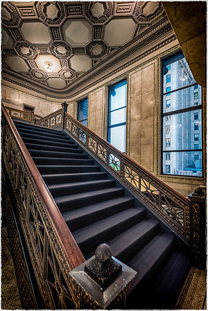 At the Chicago Cultural Center