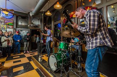 Chris Ruest at the Blues City Deli