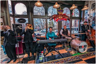 Davina & The Vagabonds at the Blues City Deli