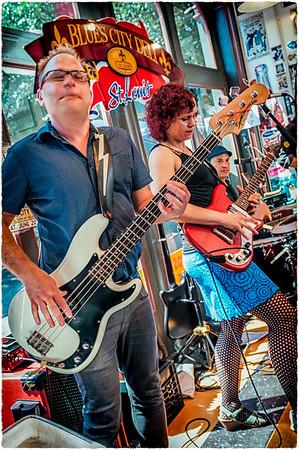 Erin Harpe & The Delita Swingers at the Blues City Deli