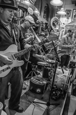 Funky Butt Brass Band at the Blues City Deli