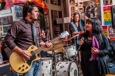 Gina Sicilia Band at the Blues City Deli