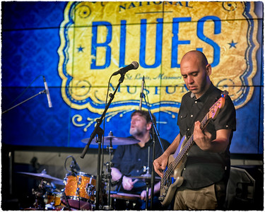 Green McDonough Band at the National Blues Museum
