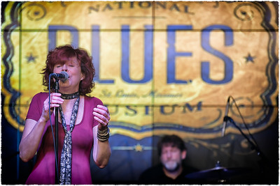 Green McDonough Band at the National Blues Museum