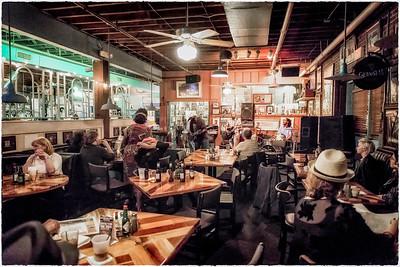 Blue Monday Jam at Hal & Mal's