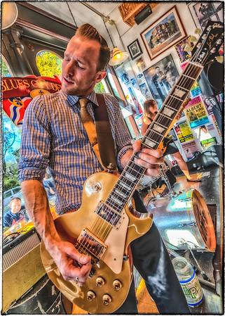 JW Jones at the Blues City Deli