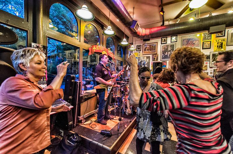 The Joe Moss Band at the Blues City Deli