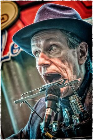 John Long at the Blues City Deli