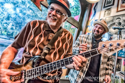 John McVey & Brandon Santini at the Blues City Deli