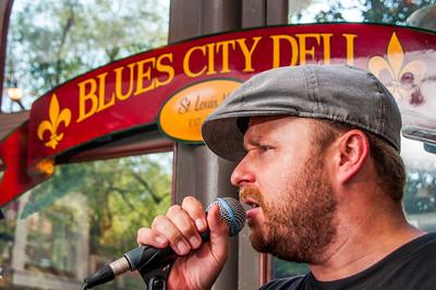 John Nemeth at the Blues City Deli