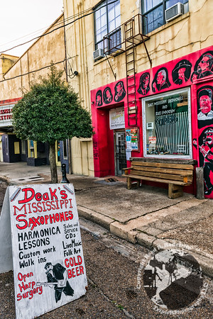 Deak Harp's Mississippi Saxophone Shop