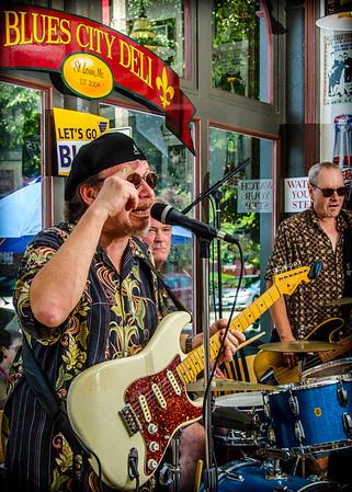 Lloyd Jones at the Blues City Deli
