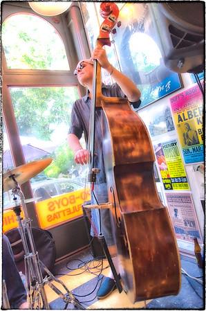 Mark Hummel at the Blues City Deli