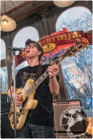 McKinley James at the Blues City Deli