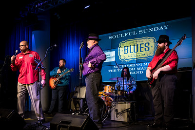 Michissippi Mick Kolassa and the Taylor Made Blues Band at the National Blues Museum