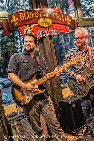 Mike Ledbetter at the Blues City Deli