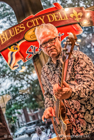 Mike Ledbetter at the Blues City Deli