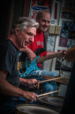 Nate Boff at the Blues City Deli