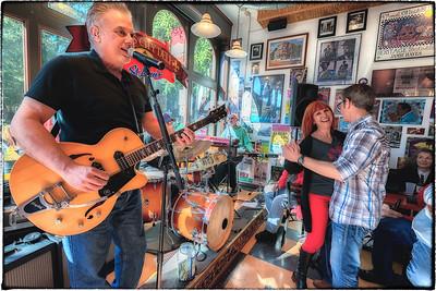 Pete Anderson at the Blues City Deli
