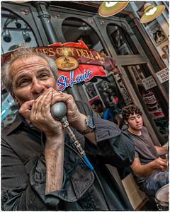 RJ Mischo at the Blues City Deli