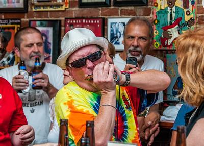 Rockin' Jake at the Blues City Deli