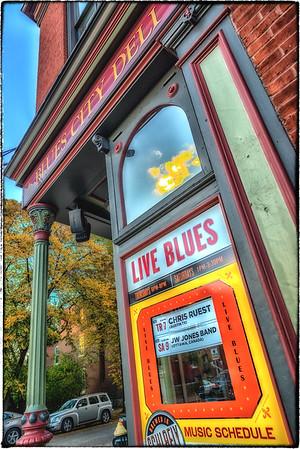 Chris Ruest & Travis Green at the Blues City Deli