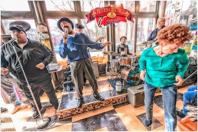 Blues Band at the Blues City Deli