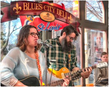Sarah and the Tall Boys at the Blues City Deli