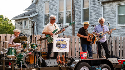 The Blue Bottle Swamp Band at the Focal Point