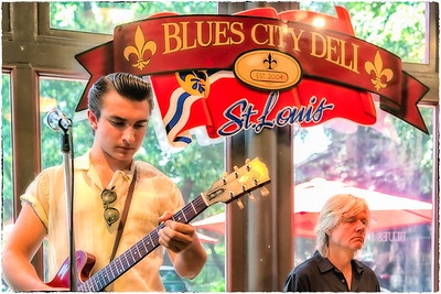 The Dylan Bishop Band at the Blues City Deli