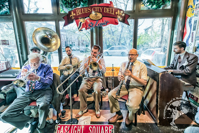 The Gaslight Squares with Bill Mason at the Blues City Deli