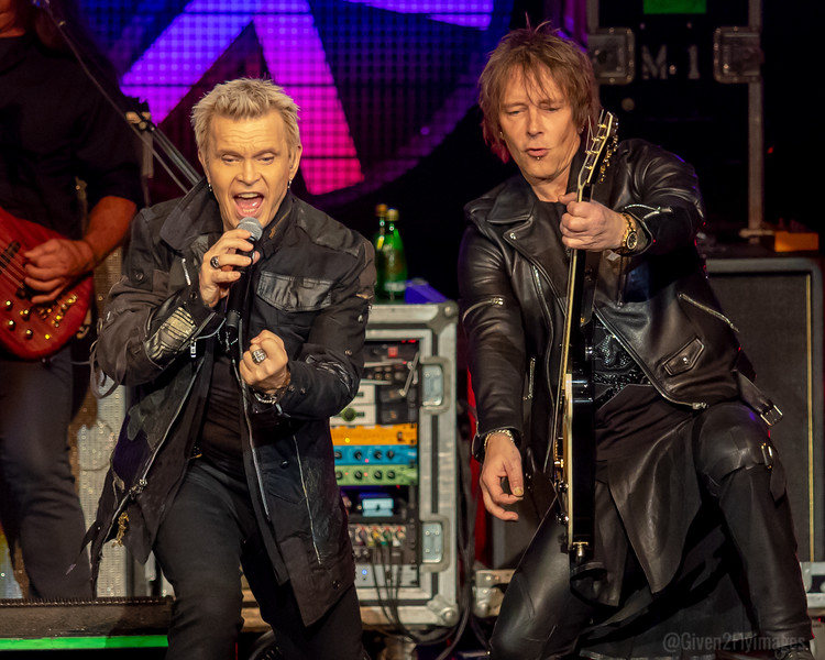 Billy Idol and Billy Morrison