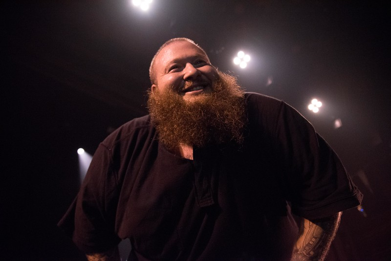 "Rapper and TV Star of ""Fuck, That's Delicious"" Action Bronson"