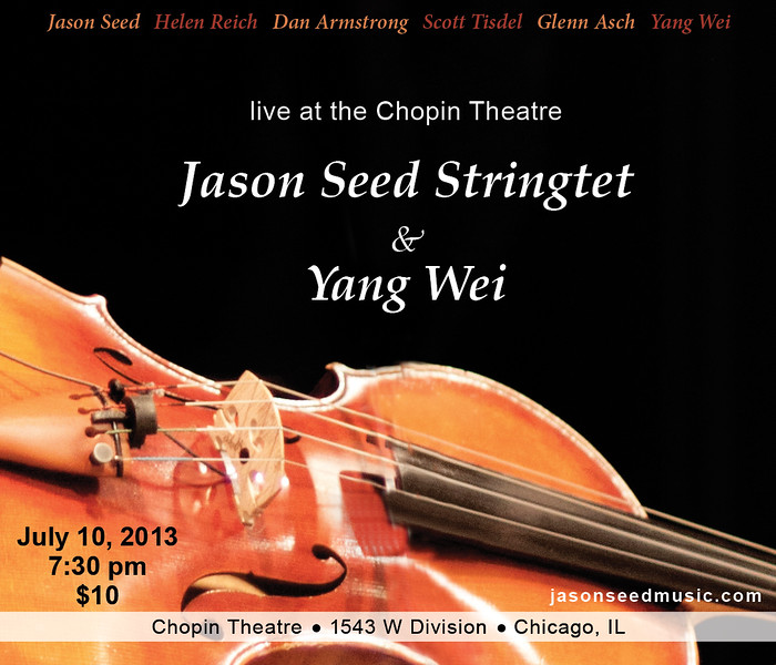 Jason Seed Stringtet, design and photography